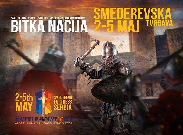 ПРВИ ПУТ У СРБИЈИ: СМЕДЕРЕВО ДОМАЋИН СВЕТСКОГ ПРВЕНСТВА У ВИТЕШКИМ БОРБАМА