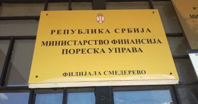 СМЕЊЕН ГОРАН МЛАДЕНОВИЋ ДИРЕКТОР ПОРЕСКЕ УПРАВЕ СМЕДЕРЕВО