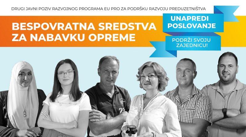 EU PRO: BESPOVRATNA SREDSTVA ZA PREDUZETNIKE, MIKRO I MALA PREDUZEĆA