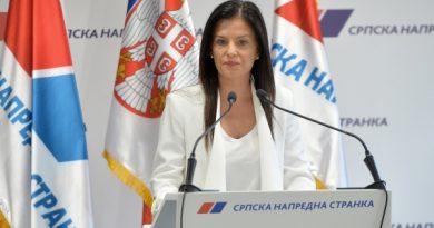 POTPREDSEDNICA SNS-a MARIJA OBRADOVIĆ GOST TV SMEDEREVO