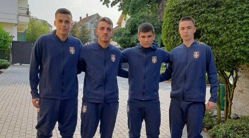 ЧЕТИРИ ОМЛАДИНЦА КМФ СМЕДЕРЕВО У РЕПРЕЗЕНТАЦИЈИ СРБИЈЕ